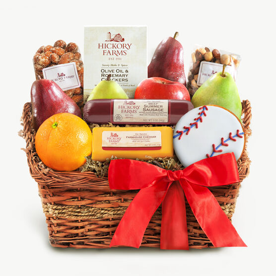 Hickory Farms Savory Summer Snack Basket