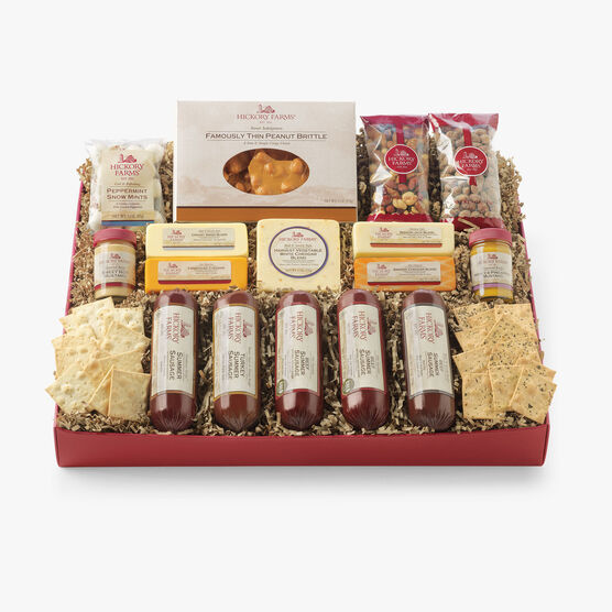 Hickory Farms All Day Celebration Gift Box