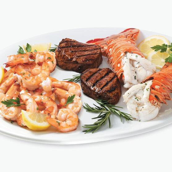 Lobster, Shrimp & Filet Feast