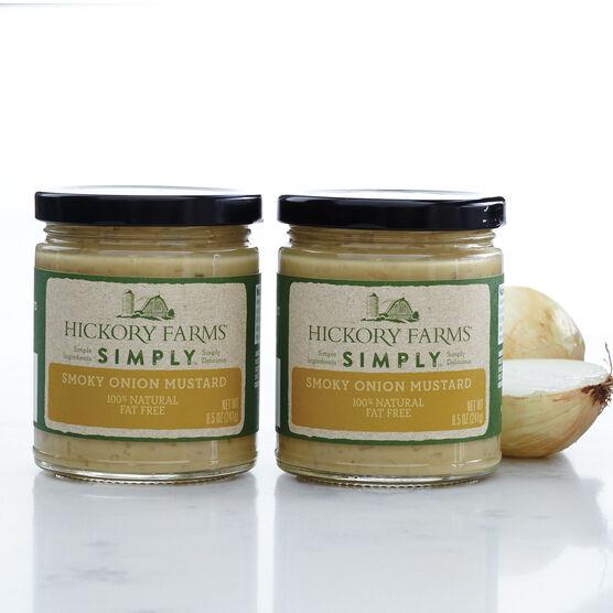 100% natural Simply smoky onion mustard