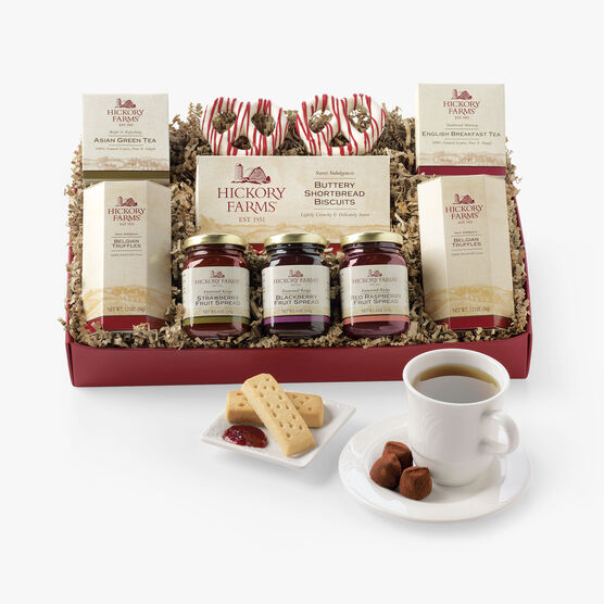 Hickory Farms Tea Time Collection Gift Box