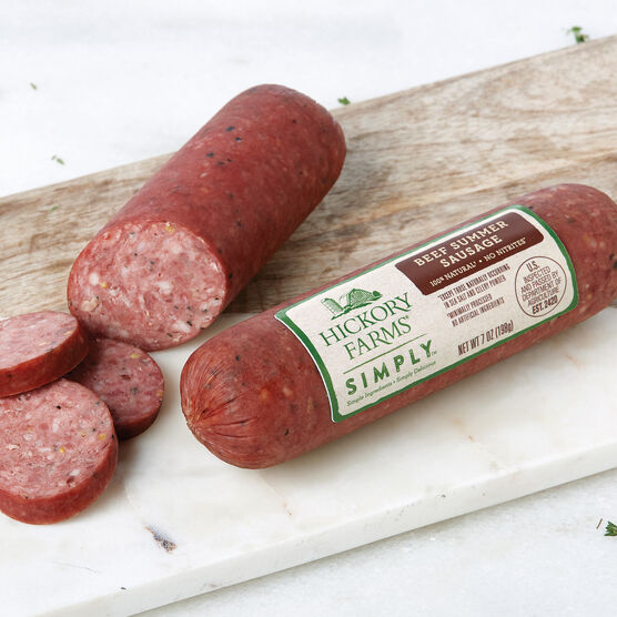 Simply 100% Natural Beef Summer Sausage