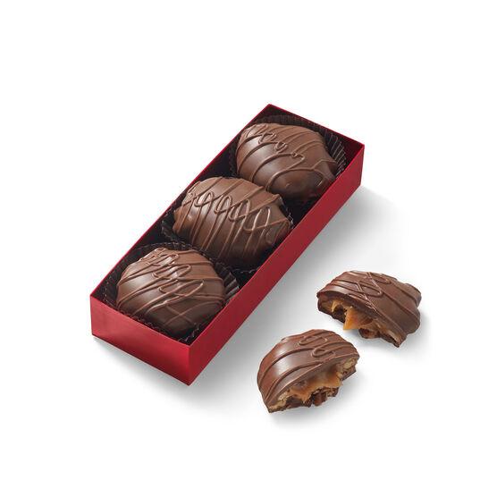 Deluxe Milk Chocolate Caramel Clusters