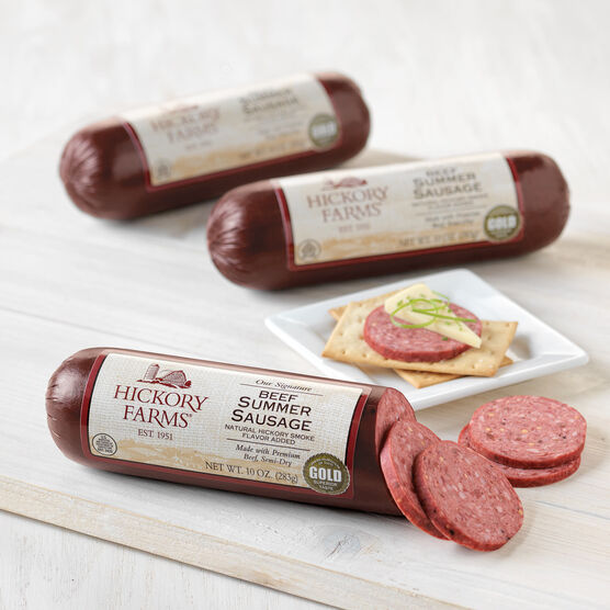 Gluten free gift baskets hickory farms hickory farms signature beef summer sausage negle Images