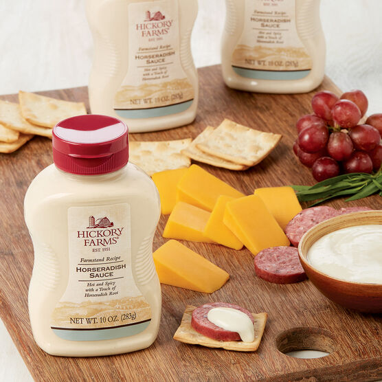 Hot and Spicy Horseradish Sauce