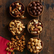 Sweet & Salty nut Sampler includes a variety of mixed nuts