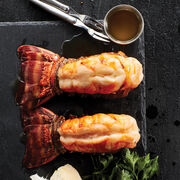 Sweet and succulent lobster tails