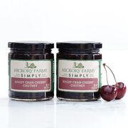 simply boozy cran-cherry chutney