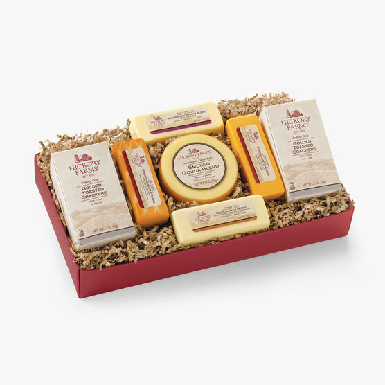 Hickory Farms Cheese Sampler Gift Box