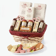 Hickory Farms FamilyCelebration Deluxe Gift Basket