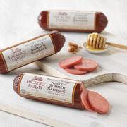 brown sugar & honey turkey summer sausage - 3 pack