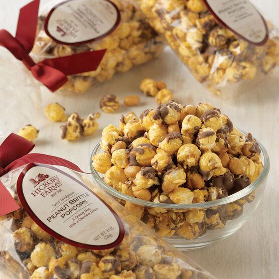 Peanut Brittle Popcorn 3 Pack