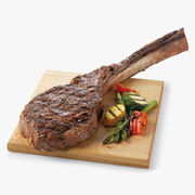 "2 (42 oz.) Tomahawk Steaks, 10"" Bone"
