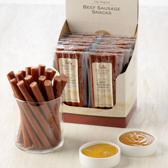 16 pack Beef Sausage Snack Sticks