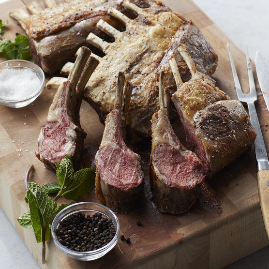 (4) 24 oz. Rack of American Lamb