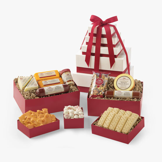 Hickory Farms Grand Gift Snack Tower