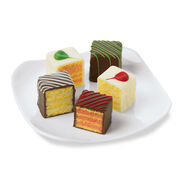 hickory farms petits fours for the holidays
