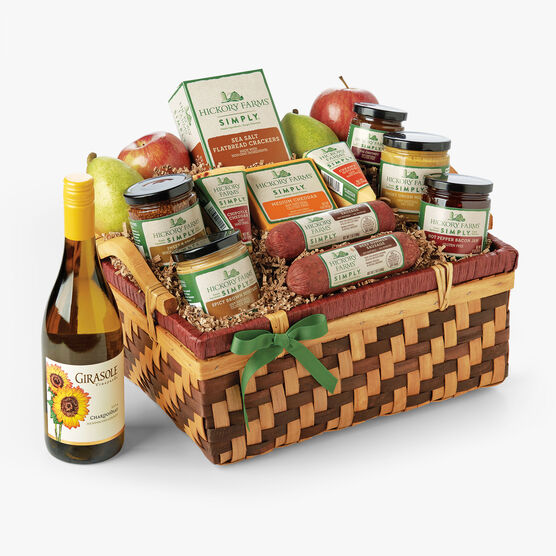 Simply Hickory Farms Gift Basket