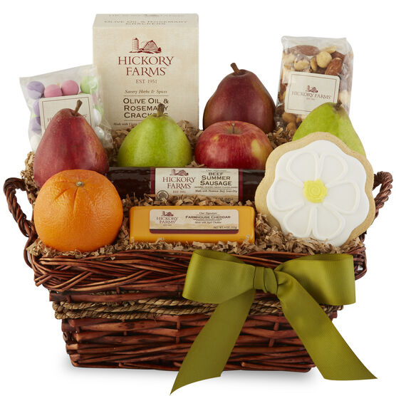Easter gifts for delivery hickory farms spring snack basket negle Gallery