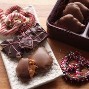 Valentine Chocolate Assortment With Wine
