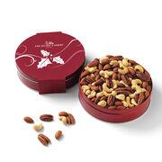 Assortment of premium roasted cashews, almonds, and pecans