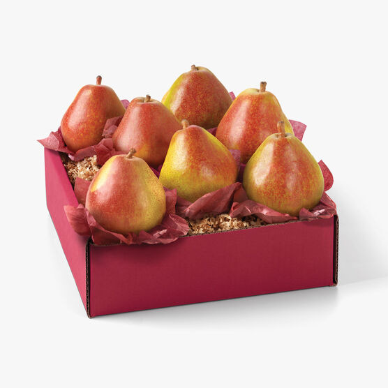 Hickory Farms Crown Comice Pear Gift Box