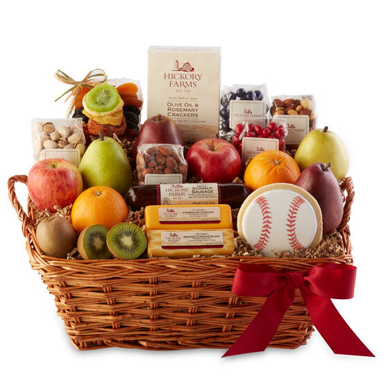 Fruit gift baskets hickory farms bountiful summer tastings negle Gallery