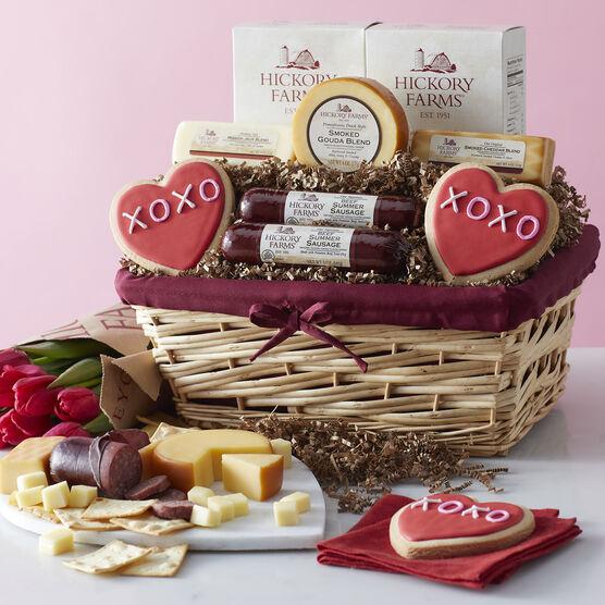 Valentine's Day Deluxe Gift Basket