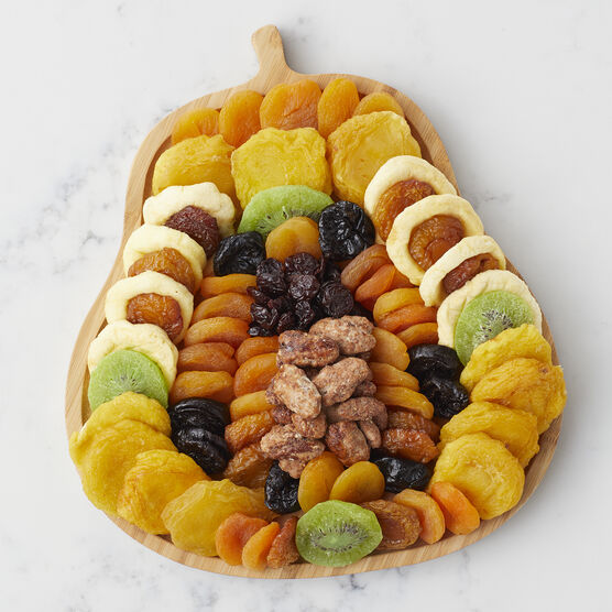 Pear Shaped Dried Fruit Tray