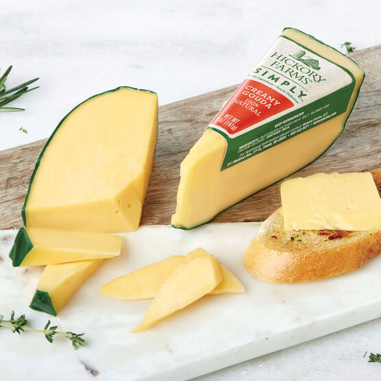 Simply Hickory Farms Creamy Gouda 2 Pack