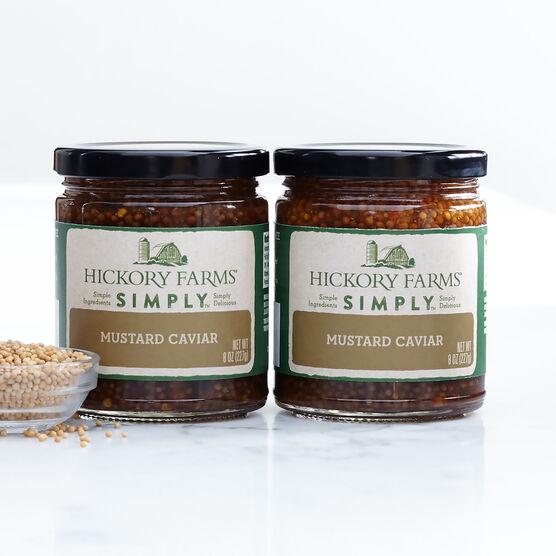 simply whole seed mustard caviar