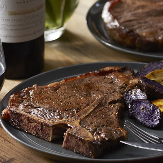 2 (16 oz) Porterhouse Premium Steaks