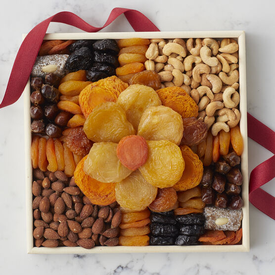 Flower Dried Fruit Tray