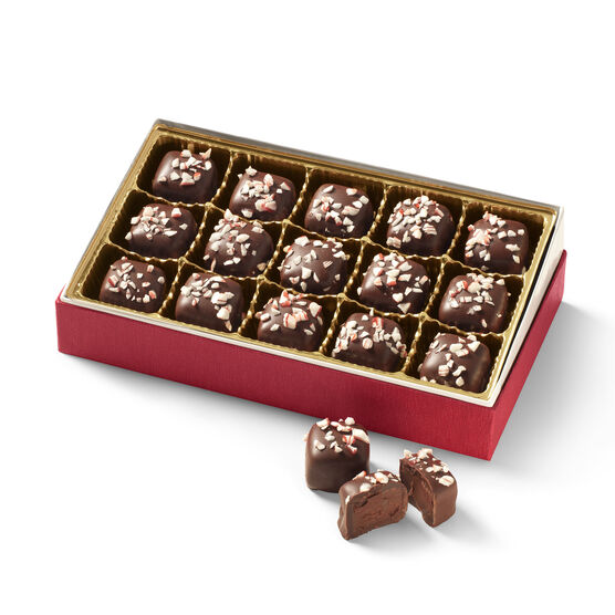 15 count dark chocolate peppermint meltaways