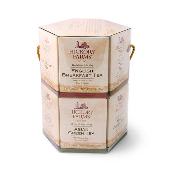 Hickory Farms Ceylon Tea Collection includes 12 different varieties