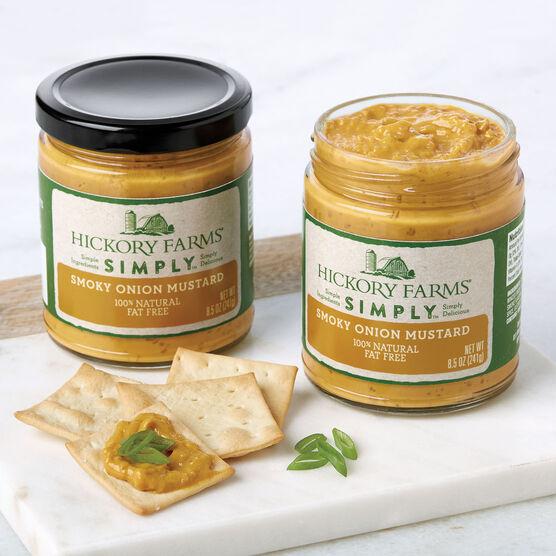 Simply Hickory Farms Smoky Onion Mustard 2 Pack