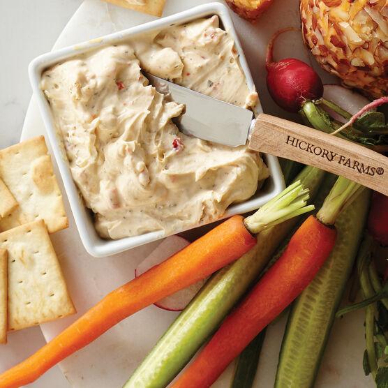 garden vegetable cheese spread
