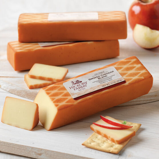 smoked cheddar cheese blend - 3 pack