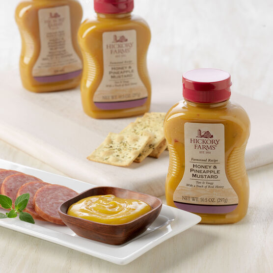 Honey & Pineapple Mustard 3 Pack