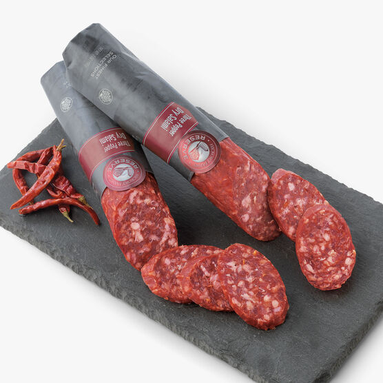 Hickory Farms Reserve Three Pepper Salami