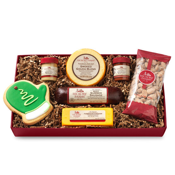 Hickory farms free shipping on gift baskets hickory farms hickory farms holiday cravings assortment negle Choice Image