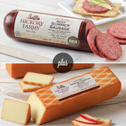 Beef Summer Sausage & Smoked Cheddar Cheese