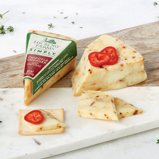 Hickory Farms Simply 100% Natural Chipotle Cheddar