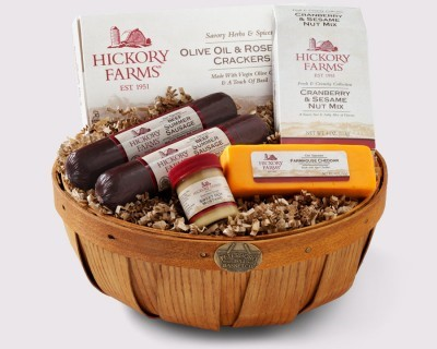 Holiday gift baskets from Hickory Farms