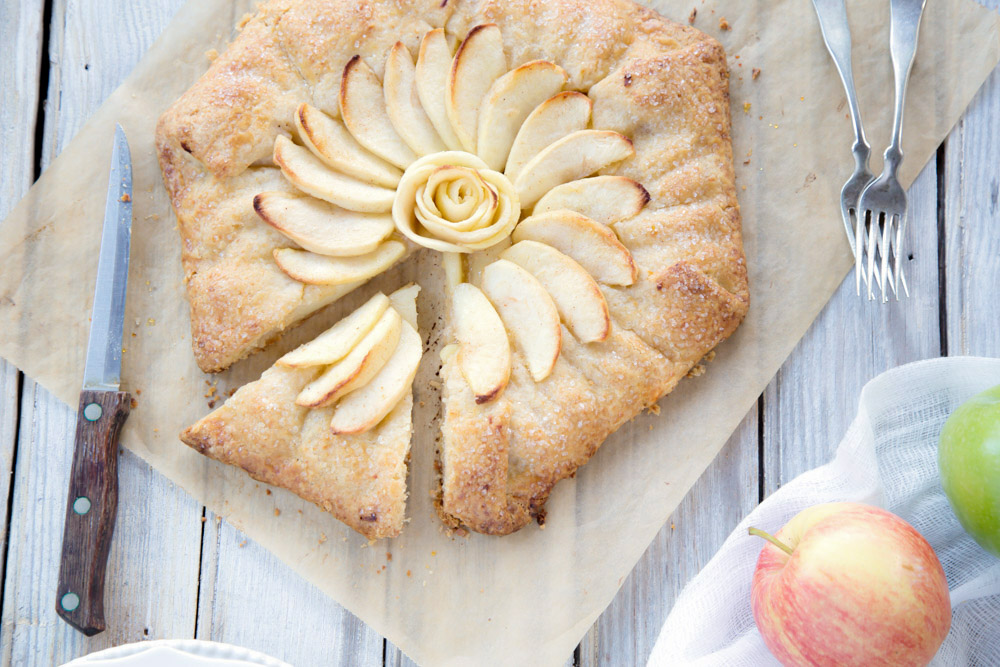 apple cheddar galette recipe