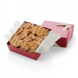 Peanut brittle from Hickory Farms