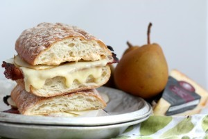 Triple Creme Pear Bacon Grilled Cheese 04