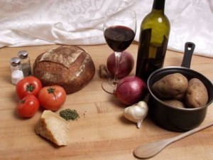 Pairing wine with food from Hickory Farms