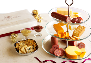 Hickory Farms' Guide to Cheese and Meat Dishes for Casual Get-Togethers