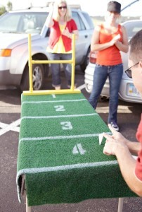 football party games from hickory farms
